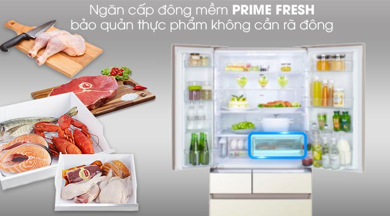 Cấp đông mềm - Tủ lạnh Panasonic Inverter 589 lít NR-F603GT-N2