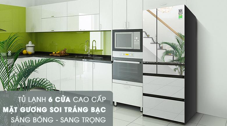 Thiết kế thời thượng - Tủ lạnh Panasonic Inverter 589 lít NR-F603GT-X2