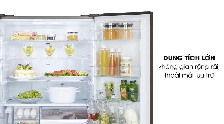 Dung tích 589 lít - Tủ lạnh Panasonic Inverter 589 lít NR-F603GT-X2
