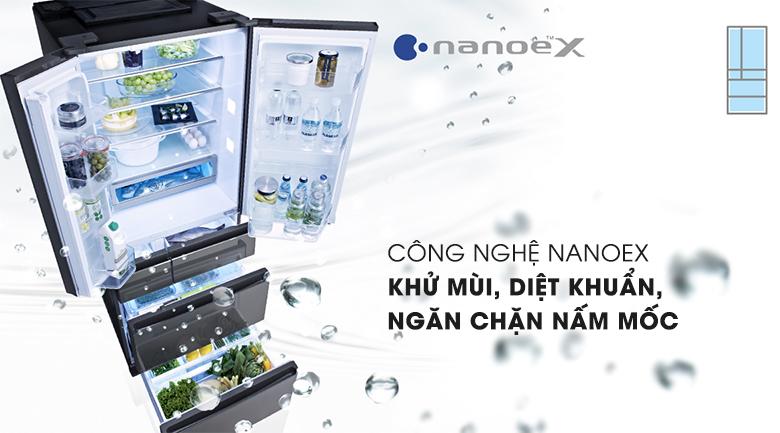 Công nghệ NanoeX kháng khuẩn, khử mùi
