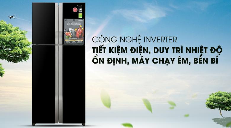 Công nghệ Inverter - Tủ lạnh Panasonic Inverter 550 lít NR-DZ600GKVN