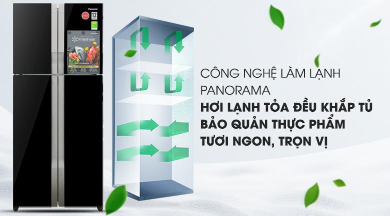 Cảm biến Eco - Tủ lạnh Panasonic Inverter 550 lít NR-DZ600GKVN