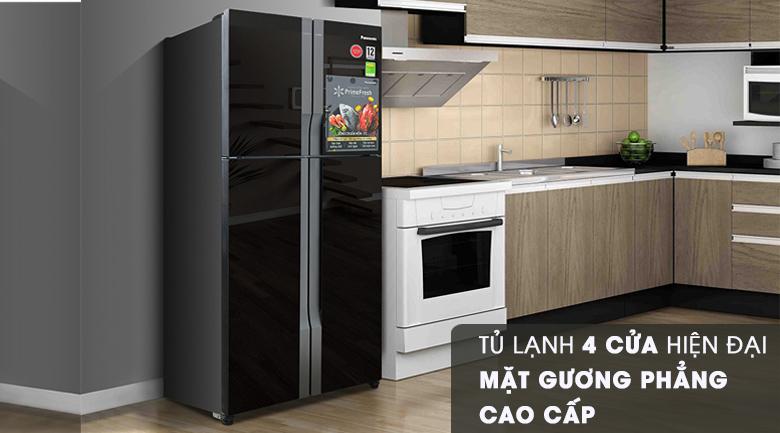 Thiết kế - Tủ lạnh Panasonic Inverter 550 lít NR-DZ600GKVN