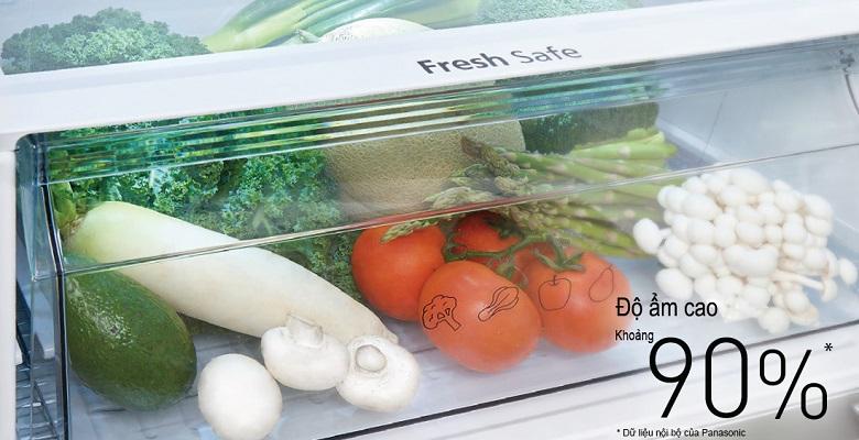 Cấp ngăn rau quả - Tủ lạnh Panasonic Inverter 550 lít NR-DZ600GKVN