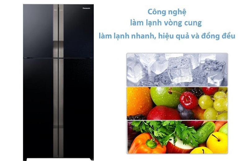 Công nghệ Panorama - Tủ lạnh Panasonic Inverter 550 lít NR-DZ600GKVN