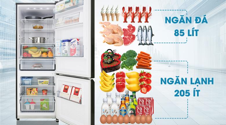 Công nghệ Inverter - Tủ lạnh Panasonic Inverter 290 lít NR-BV329QKV2
