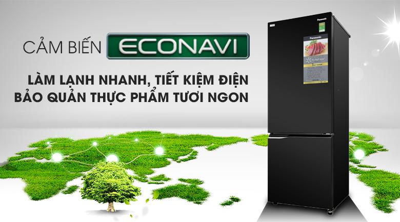 Cảm biến Econavi - Tủ lạnh Panasonic Inverter 290 lít NR-BV329QKV2