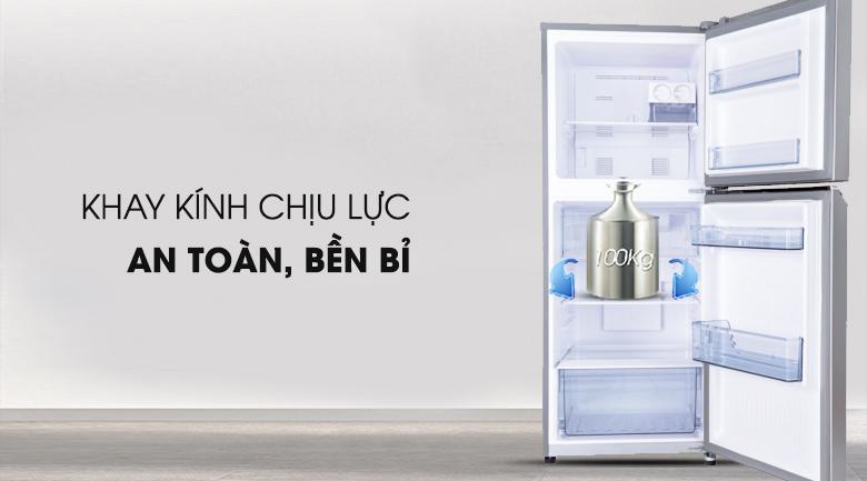 Khay chứa thực phẩm an toàn chắc chắn - Tủ lạnh Panasonic Inverter 268 lít NR-BL300PSVN