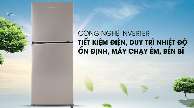 Vận hành êm ái, ổn định với công nghệ Inverter - Tủ lạnh Panasonic Inverter 268 lít NR-BL300PSVN
