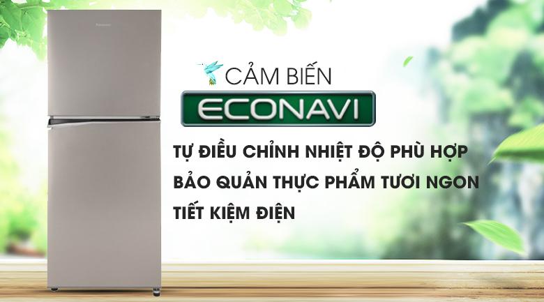 Tích hợp cảm biến Econavi - Tủ lạnh Panasonic Inverter 268 lít NR-BL300PSVN