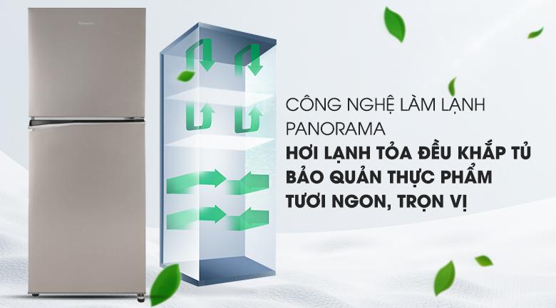 Làm lạnh tối ưu hơn với công nghệ Panorama - Tủ lạnh Panasonic Inverter 268 lít NR-BL300PSVN