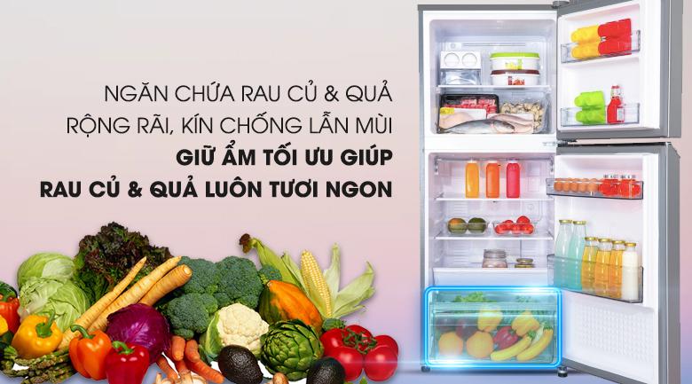Ngăn rau củ quả tiện lợi - Tủ lạnh Panasonic Inverter 268 lít NR-BL300PSVN