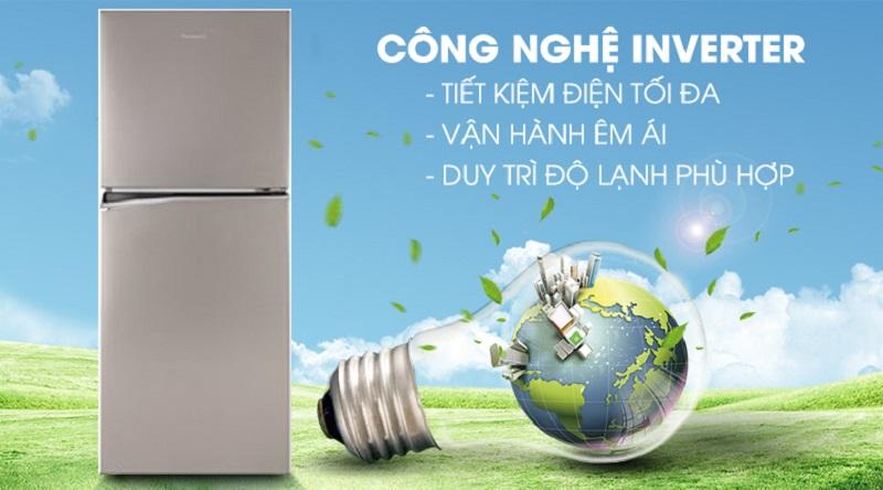 Vận hành ổn định với công nghệ Inverter - Tủ lạnh Panasonic Inverter 268 lít NR-BL300PSVN