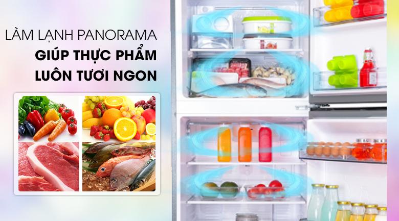 Làm lạnh nhanh hơn với công nghệ Panorama - Tủ lạnh Panasonic Inverter 268 lít NR-BL300PSVN