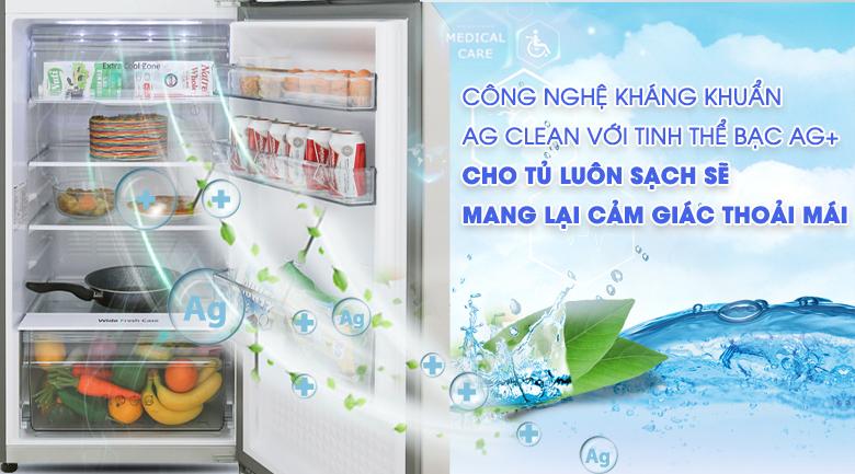Hệ thống kháng khuẩn, khử mùi tinh thể bạc Ag Clean - Tủ lạnh Panasonic Inverter 268 lít NR-BL300PSVN
