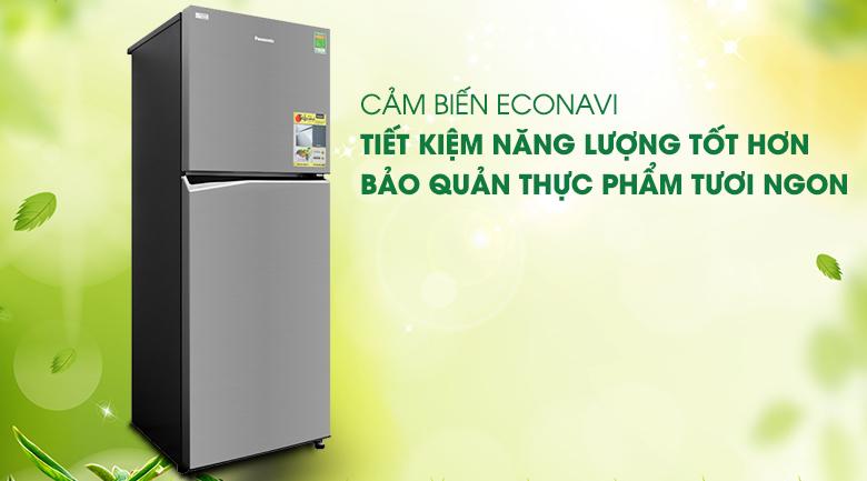Tối ưu điện năng hiệu quả với cảm biến Econavi - Tủ lạnh Panasonic Inverter 306 lít NR-BL340PSVN
