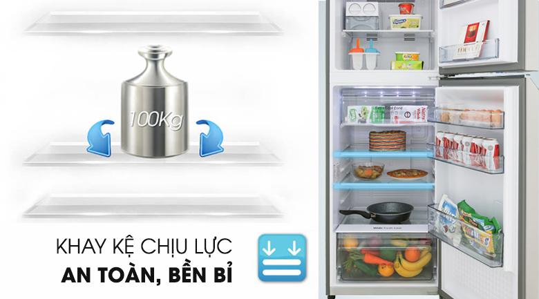 Khay kệ chịu lực bền bỉ - Tủ lạnh Panasonic Inverter 268 lít NR-BL300PSVN