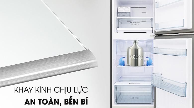 Khay kính chịu lực an toàn - Tủ lạnh Panasonic Inverter 268 lít NR-BL300GAVN