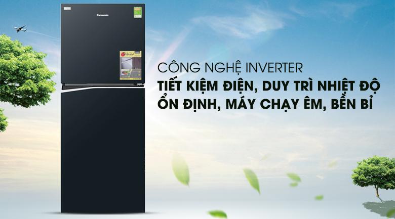 Công nghệ Inverter - Tủ lạnh Panasonic Inverter 268 lít NR-BL300GAVN