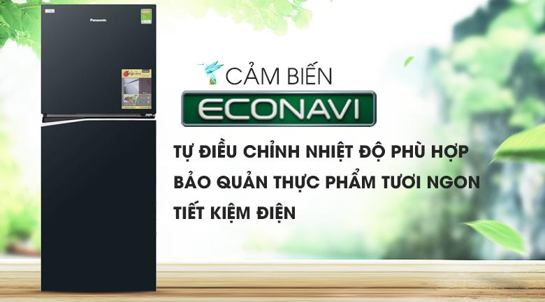Cảm biến Econavi - Tủ lạnh Panasonic Inverter 268 lít NR-BL300GAVN