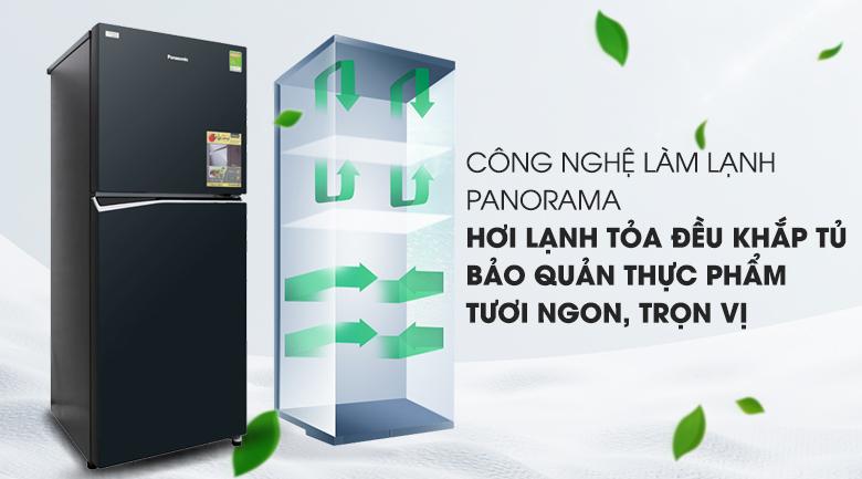 Công nghệ Panorama - Tủ lạnh Panasonic Inverter 268 lít NR-BL300GAVN