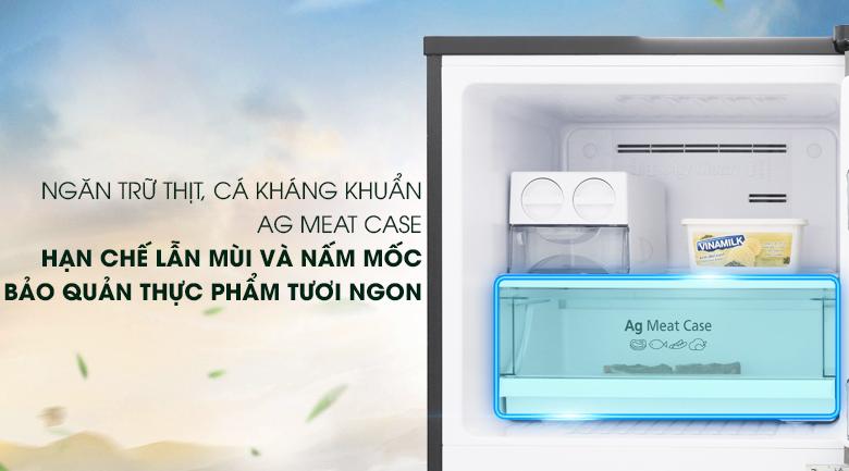 Ngăn đựng thịt riêng biệt Ag Meat Case ngăn chặn mùi hôi từ thịt, cá - Tủ lạnh Panasonic Inverter 268 lít NR-BL300GAVN