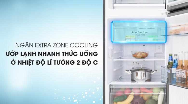 Ngăn lạnh Extra Cool Zone - Tủ lạnh Panasonic Inverter 268 lít NR-BL300GAVN