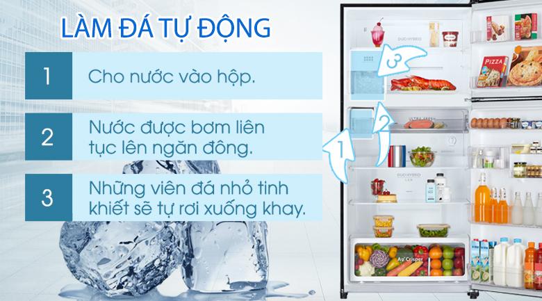 Khả năng làm đá tự động - Tủ lạnh Toshiba Inverter 555 lít GR-AG58VA (X)