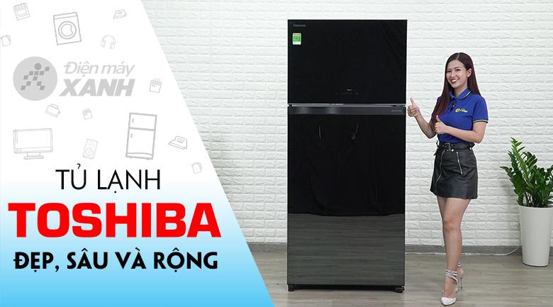 Tủ lạnh Toshiba Inverter 608 lít GR-AG66VA (XK)