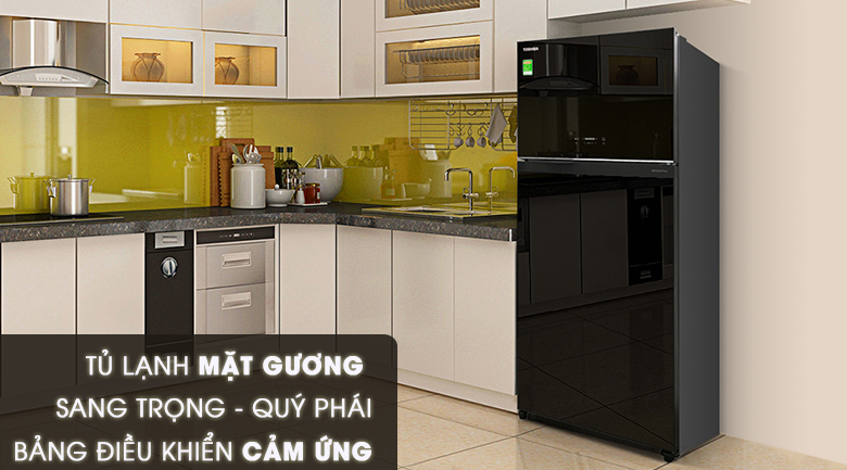 Thiết kế thẩm mỹ - Tủ lạnh Toshiba Inverter 608 lít GR-AG66VA