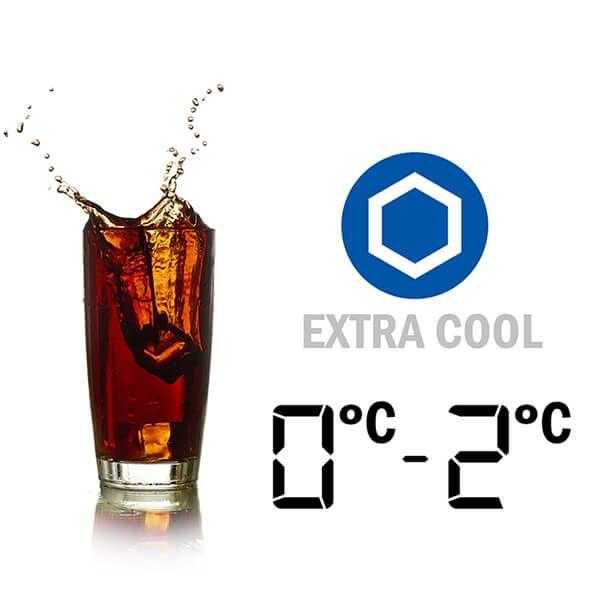 Ngăn làm lạnh nhanh Extra Cool - Tủ lạnh Sharp Inverter 605 lít SJ-FX688VG-BK