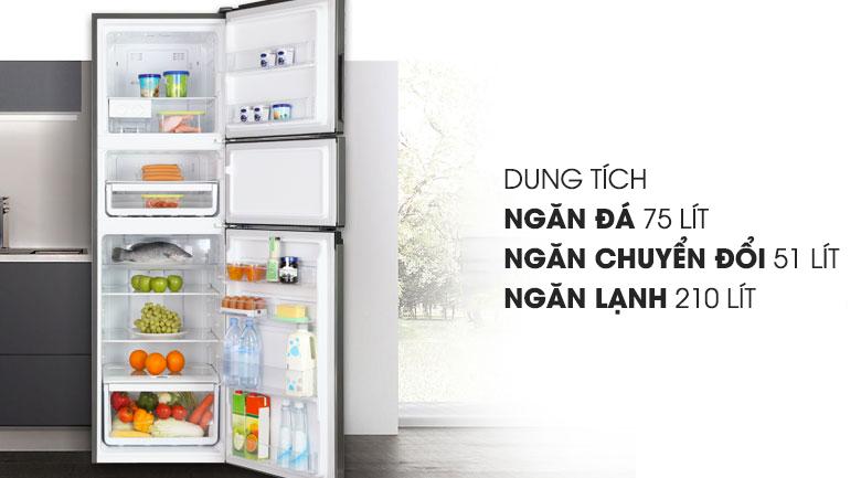 Dung tích 334 lít - Tủ lạnh Electrolux Inverter 334 lít EME3700H-H