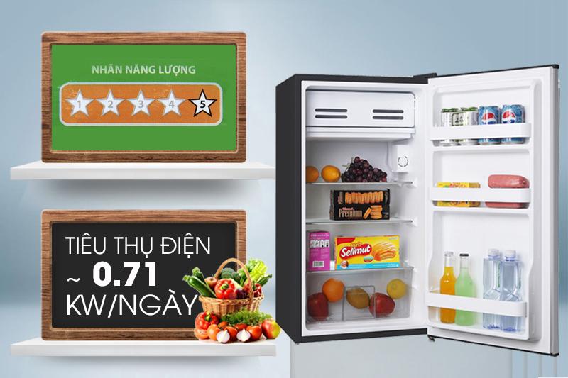 Tủ lạnh Midea HS-122TTY - TIết kiệm điện