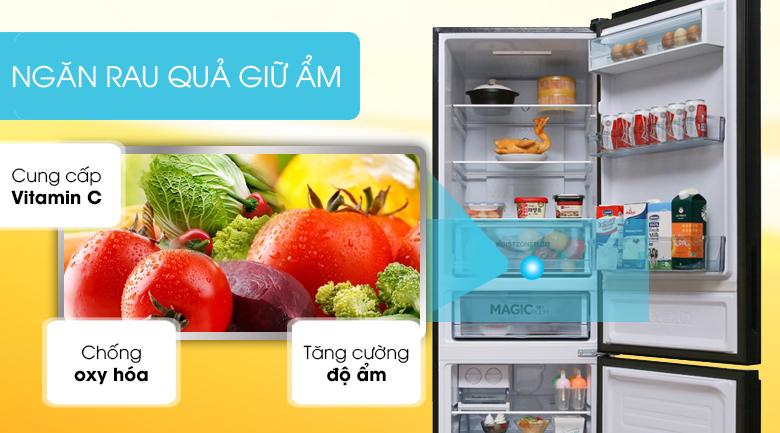 Ngăn rau giữ ẩm - Tủ lạnh Toshiba Inverter 305 lít GR-AG36VUBZ