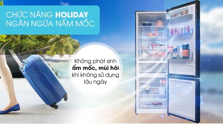 Chức năng Holiday - Tủ lạnh Toshiba Inverter 305 lít GR-AG36VUBZ