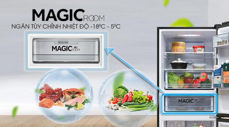 Ngăn Magic room - Tủ lạnh Toshiba Inverter 305 lít GR-AG36VUBZ