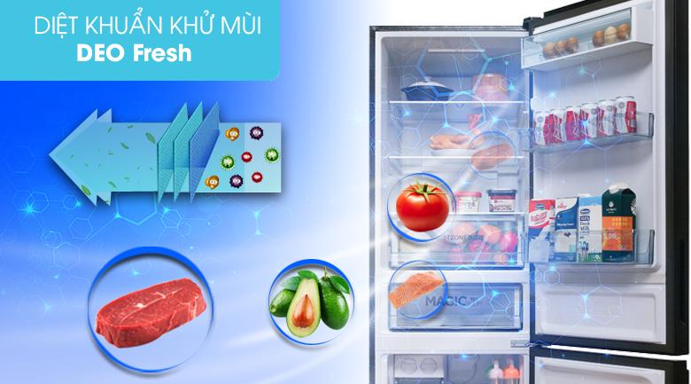 Kháng khuẩn khử mùi Deo Fresh - Tủ lạnh Toshiba Inverter 305 lít GR-AG36VUBZ