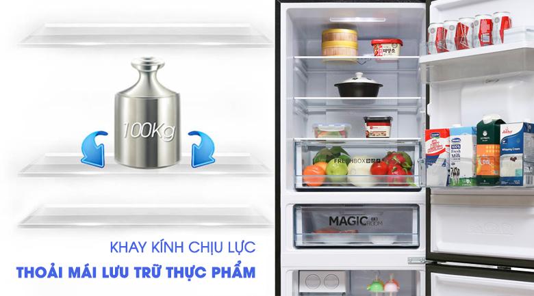 Khay kính - Tủ lạnh Aqua 288 lít AQR-IW338EB