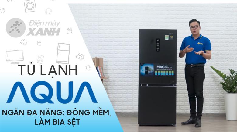 Tủ lạnh Aqua Inverter 260 lít AQR-I298EB BS