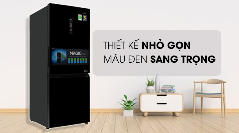 Thiết kế - Tủ lạnh Aqua Inverter 260 lít AQR-I298EB