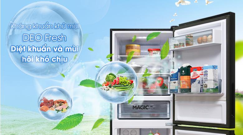 Kháng khuẩn Deo Fresh - Tủ lạnh Aqua Inverter 260 lít AQR-I298EB