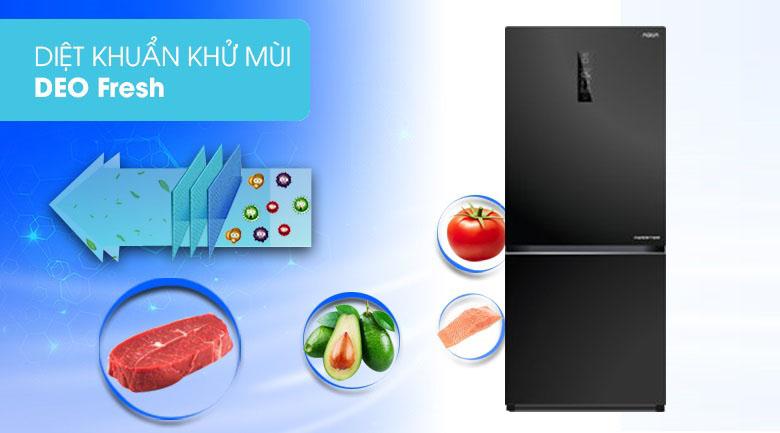 Công nghệ DEO Fresh - Tủ lạnh Aqua Inverter 260 lít AQR-IG298EB GB