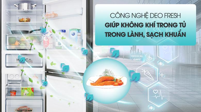 Công nghệ DEO Fresh - Tủ lạnh Aqua 292 lít AQR-IG338EB GB
