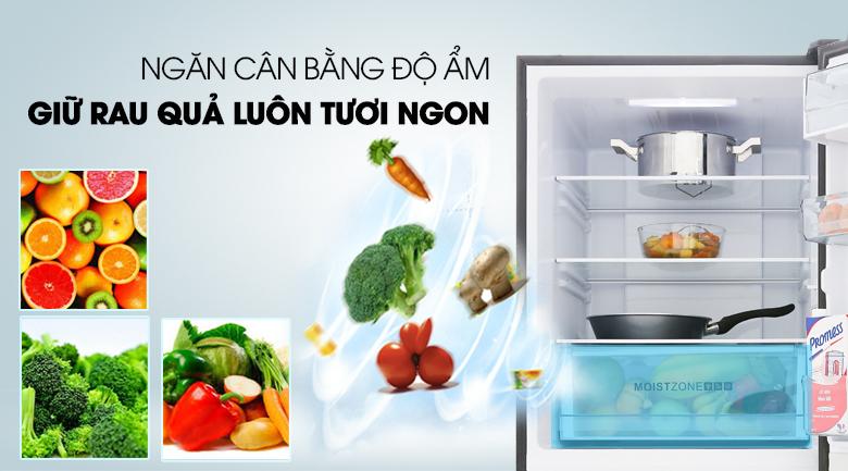 Ngăn rau củ giữ ẩm - Tủ lạnh Aqua 292 lít AQR-IG338EB GB