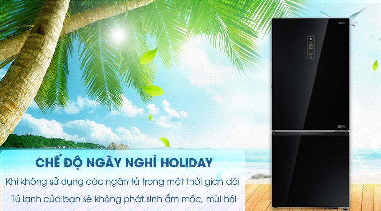 Chức năng Holiday - Tủ lạnh Aqua 292 lít AQR-IG338EB GB