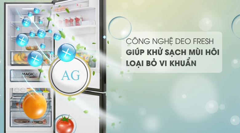 Công nghệ DEO Fresh - Tủ lạnh Aqua Inverter 320 lít AQR-IW378EB BS