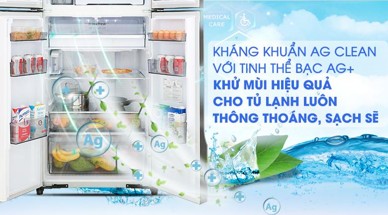 Ngăn cấp đông mềm Prime Fresh - Tủ lạnh Panasonic Inverter 550 lít NR-DZ600GXVN
