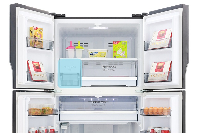 Làm đá tự động - Tủ lạnh Panasonic Inverter 550 lít NR-DZ600MBVN