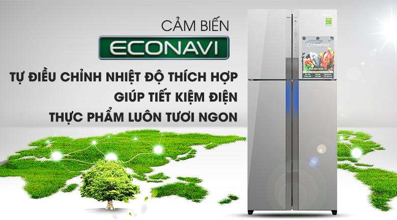 Cảm biến Econavi - Tủ lạnh Panasonic Inverter 550 lít NR-DZ600MBVN