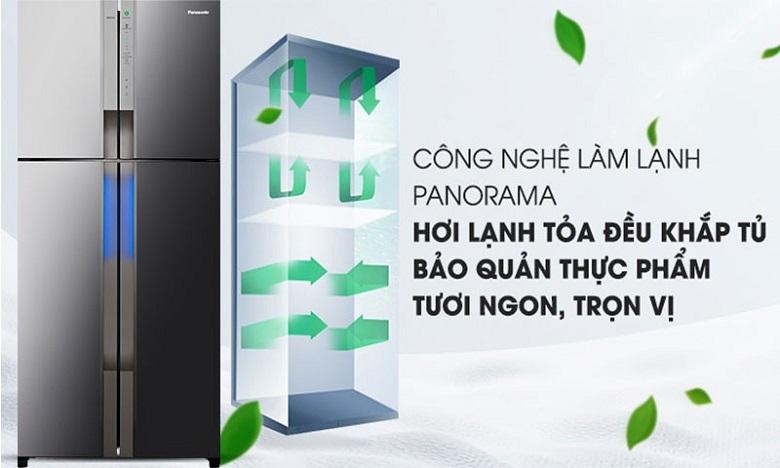 Công nghệ Panorama - Tủ lạnh Panasonic Inverter 550 lít NR-DZ600MBVN